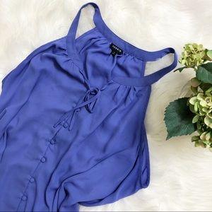 TORRID Crepe/Chiffon blouse
